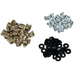 Bag of 50 M6 cage nuts and bolts CAGE-NUTS-50