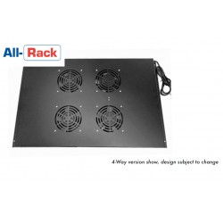 4-way roof mount fan tray for 1000mm deep Allrack cabinets