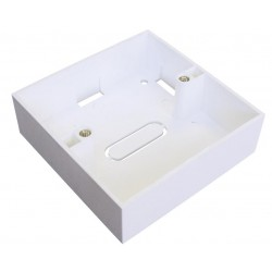 Single gang back box 86x86x46 surface mount 46mm deep BB-868632