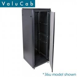 18u 600x600 small server rack enclosure CAB-FE-18U-66NA