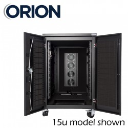 15u 600x1000 Orion Tranquilo Rack Acoustic Soundproofed TAR15-6-10