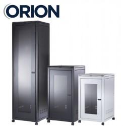 12u 600x800 floor standing data comms rack cabinet FS12-6-8 black or grey