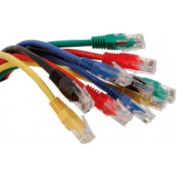Cat5e 2m patch lead 2.0m - available in various colours