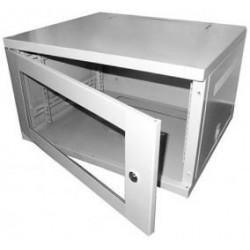 6u 450mm deep EL grey wall mount rack cabinet CAB-W6U-EL450G
