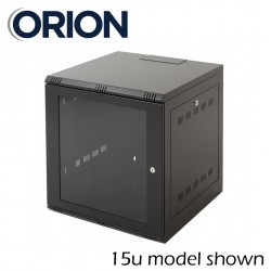 18u 600x600 wall mount CCTV data comms rack network cabinet WM18-6-6