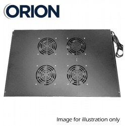 2-way fans roof fan tray for Orion racks FTRFM-2