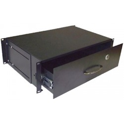 3u locking drawer CAB-DRW-FE-3U